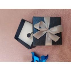 Футляр картонный сапфировый (гарнитур 4 прорези)