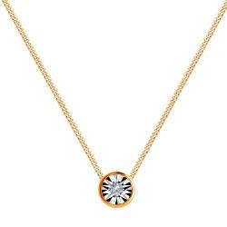 Колье из золота с бриллиантом