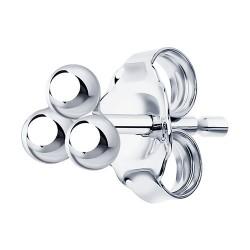 Серьга из серебра
